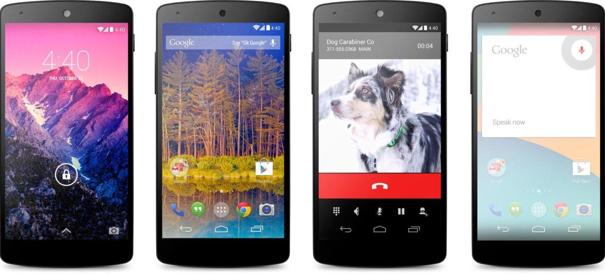 Nexus 5 coming to T-Mobile beginning November 14