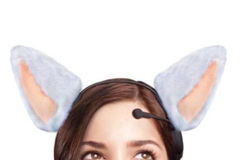 Necomimi Brainwave Cat Ears move according to mood