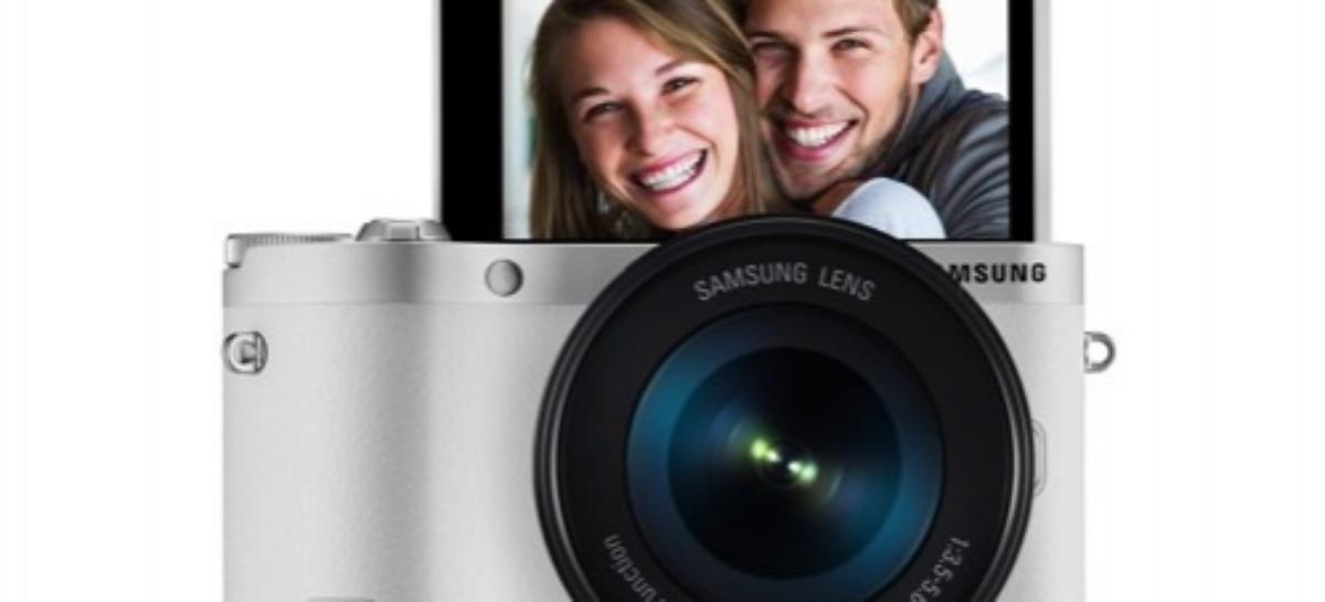 Samsung NX300M smart camera, powered by Tizen