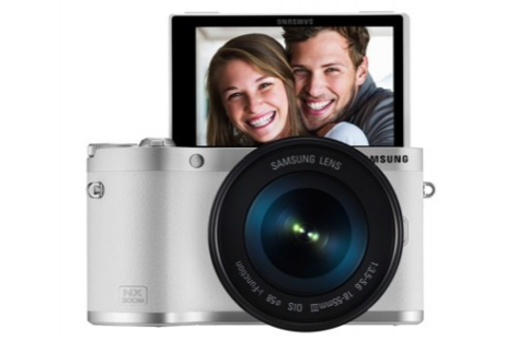 Samsung NX300M smart camera, powered by Tizen