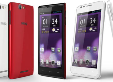 New BenQ smartphones unveiled in Taiwan