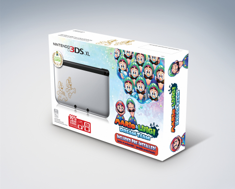 Nintendo 3DS XL Mario & Luigi edition