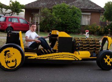 Lego car test drives in Australia