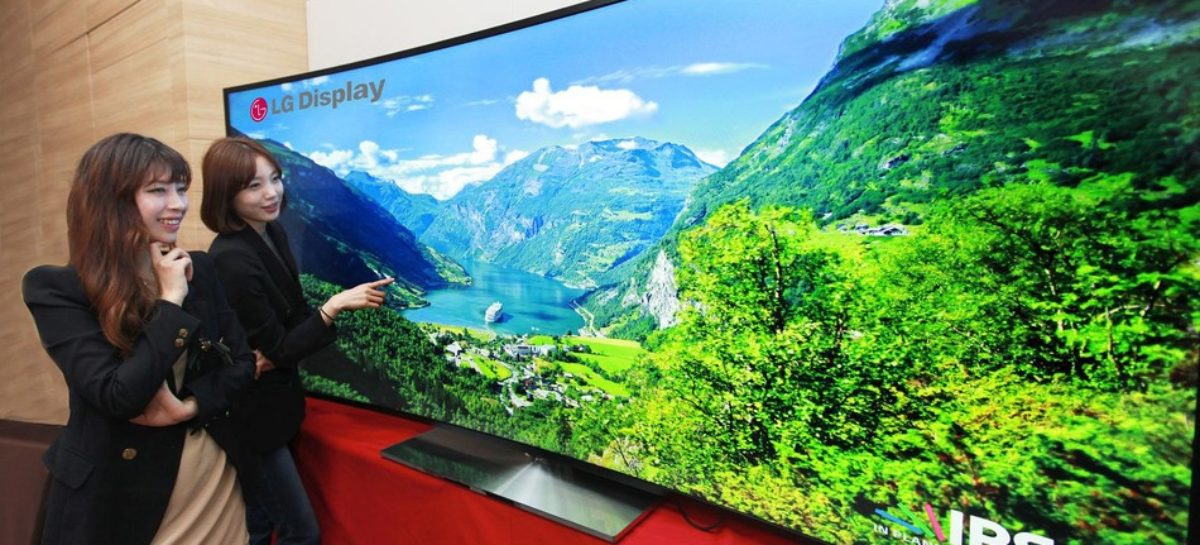 LG curved UltraHD LCD TV: What film buffs need