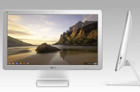 LG Chromebase all-in-one desktop unveiled