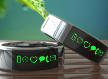 Smarty Ring: It's a smart ring that syncs on your phone