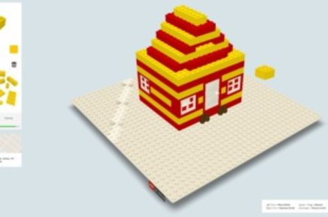 Build With Chrome: Create Lego direct from browser