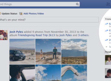 Facebook Trending rolls out