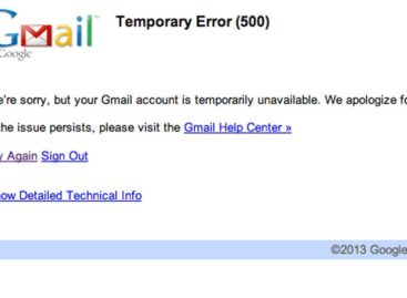 Google apologizes for Gmail outage