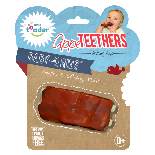 AppeTeethers Baby-Q Ribs