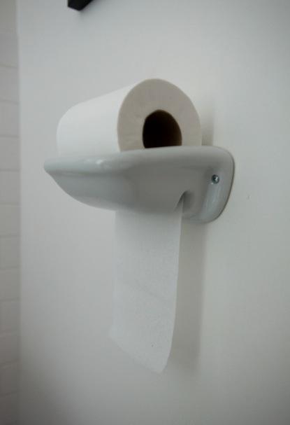 Toilet Roll Holder Porcelain