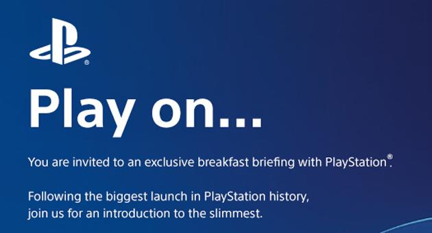 Slimmest PlayStation teaser