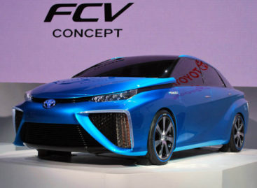 Toyota Fuel Cell Vehicle: Powered by hydrogen and air