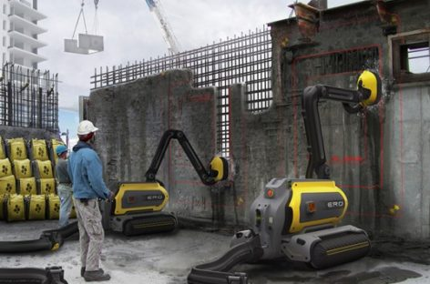 ERO: Concrete recycling robot for greener demolitions