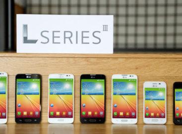 LG L Series III smartphones debut