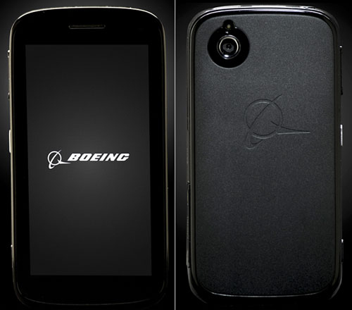 Black, the Boeing smartphone