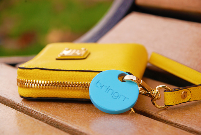 Bringrr tags lost items via Bluetooth
