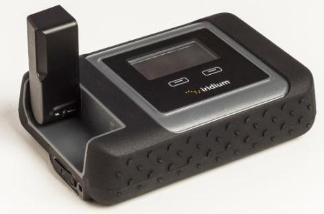 Iridium Go satellite hotspot gets you online anywhere