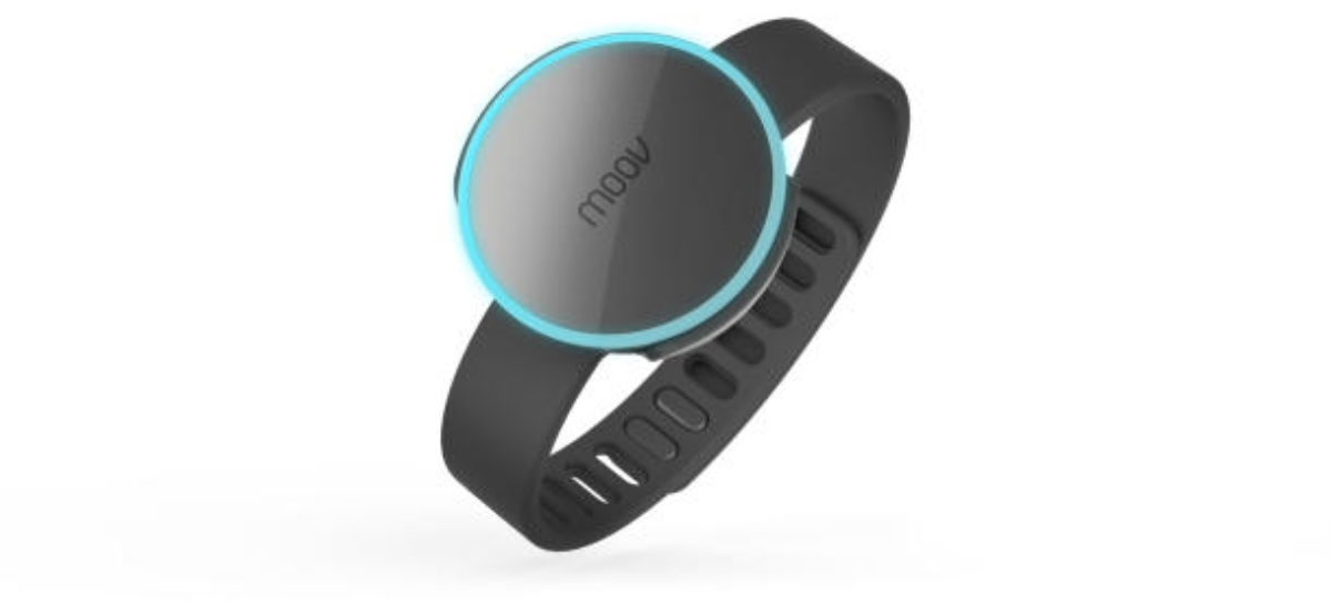 Moov fitness tracker also works as personal trainer