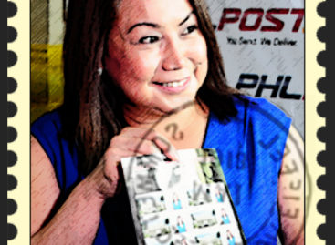 Selfie stamps launched in Philippines