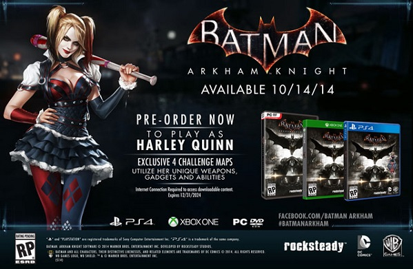 Batman: Arkham Knight with Harley Quinn