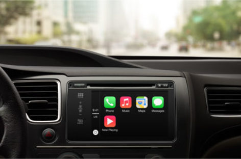 Apple CarPlay in-car interface unveiled