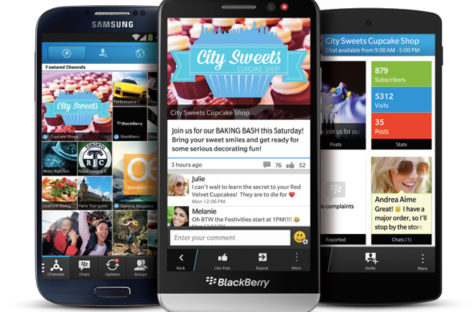 BlackBerry considering BBM for desktop