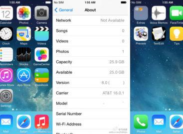 Alleged iOS 8 screenshots leaked