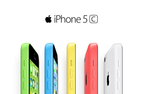 Apple releases 8GB iPhone 5C