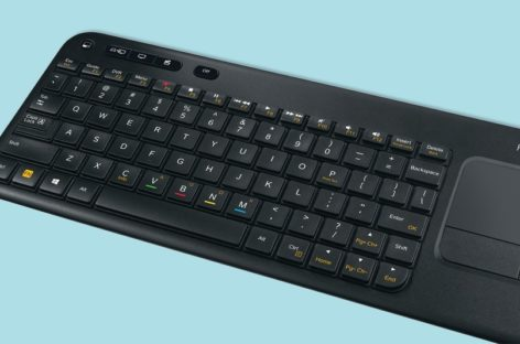 Logitech Harmony Smart Keyboard: Typing on TV made easy