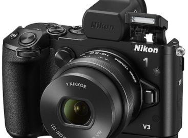 Nikon 1 V3 mirrorless camera unveiled