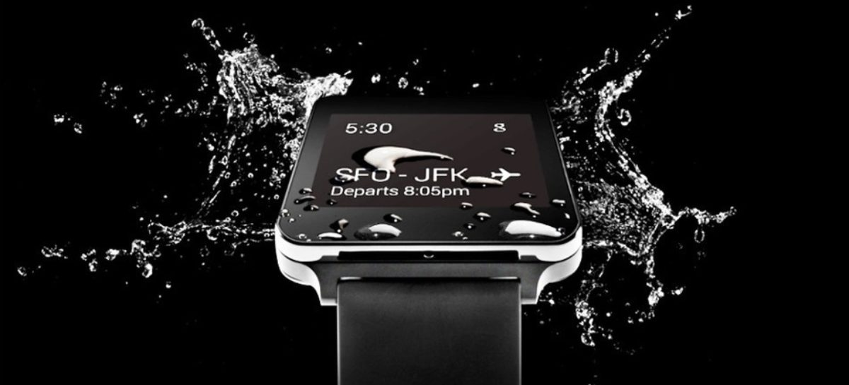 LG G Watch: Water-resistant Android Wear smartwatch