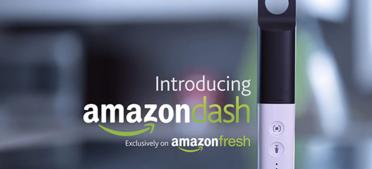 Amazon Dash: Scanner that keeps your cupboards full