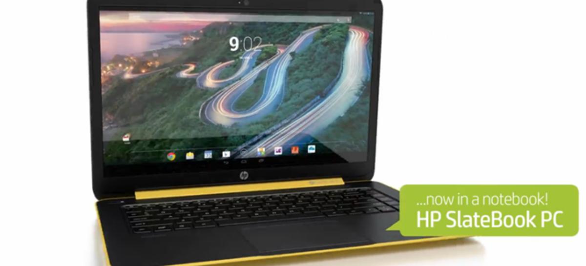 HP Slatebook 14 Chromebook unveiled