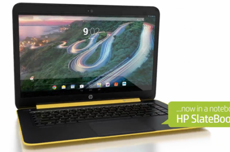 HP Slatebook 14 Chromebook unveiled