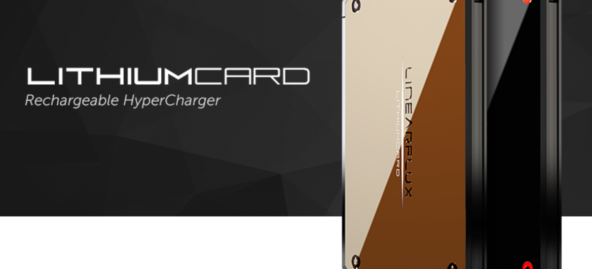 LithiumCard hypercharger infuses power twice as fast