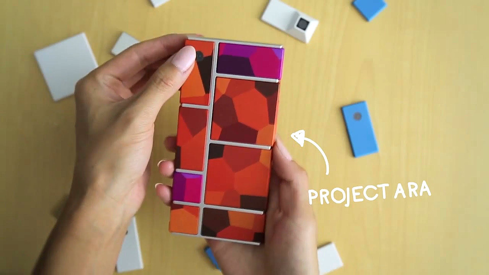 Google's Project Ara officially unveiled