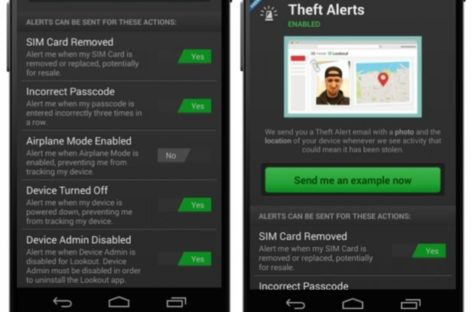 Lookout mobile security app helps ward off thieves