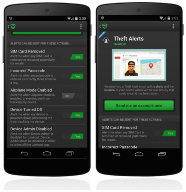 Lookout mobile security anti theft app