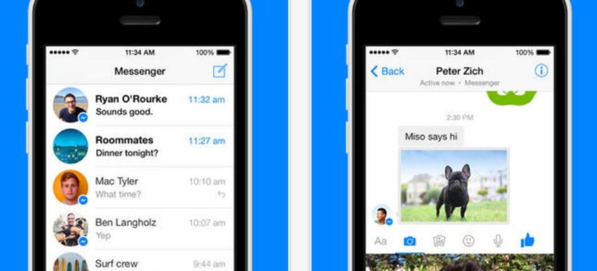 Facebook Messenger update has instant video messaging