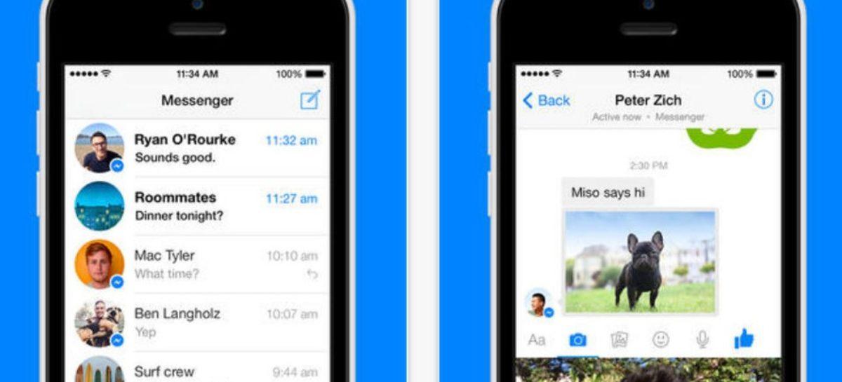 Facebook Messenger update has instant video messaging