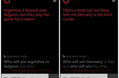 Microsoft's Cortana is this World Cup's Paul the Octopus