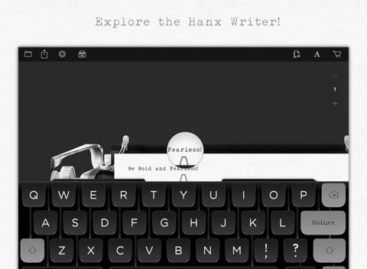 Hanx Writer: The Tom Hanks typewriter app