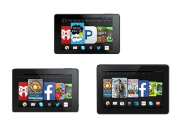 Amazon Introduces Three New Kindle Fire Tablets