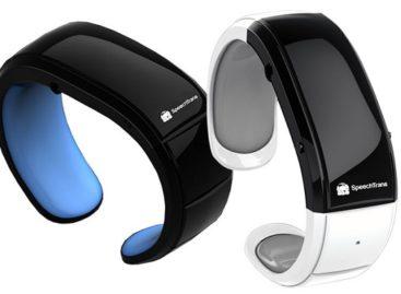 SpeechTrans Wristband Watch