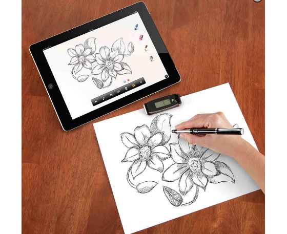 The Instant Transmitting Paper To iPad Pen
