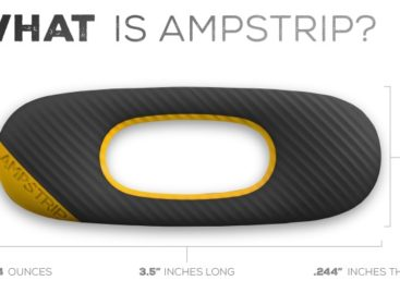 AmpStrip Wearable Heart Rate Monitor