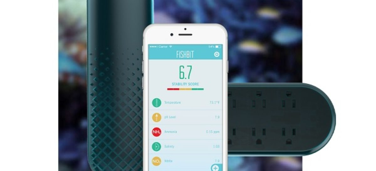 FishBit Helps Monitor Your Aquarium For You