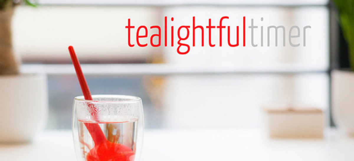 Tealightful Timer: World's Smartest Tea Infuser