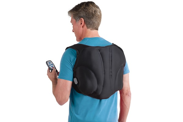 The Heated Wearable Back Massager